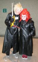 Roxas and Axel by GhostKITTEN