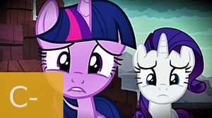 MLP FiM: S6 E5: Gauntlet of Fire Review by Cuddlepug