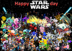 Happy Star wars day by pokekid333