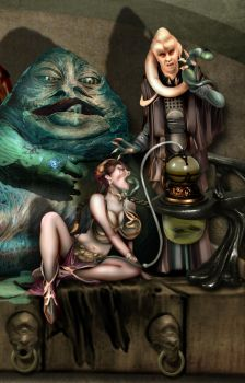 Dinner at Jabba's House by Laszivia