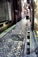 Glasgow: Side Alley by basseca