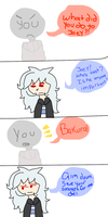 Bakura You Ass by e-strellas
