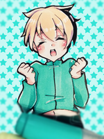 everyone knows it's butters :^D by sixuri