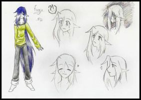 Character sheet: Fuyu by Drieth