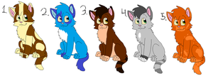 Free Cat Adopts (closed) by nikkithedog3