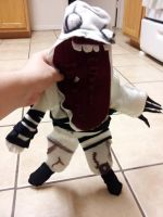 Amnesia Monster: Grunt Plushie by Peace-Dove