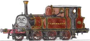 Fenchurch the Bluebell 'Terrier' Engine by 01Salty