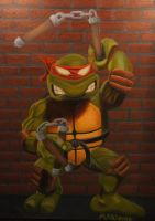 Micheal Angelo by luckyseven11779