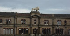A Lion Way Up High by Lucinda-Emma