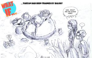Sketch What If Disney... 09 by mariods