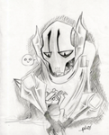 General Grievous and Gor by theREDspy
