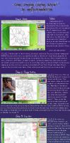 Anime coloring/drawing tutorial by Malfey