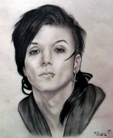 Andy Biersack Final by KestrelMoonfayre