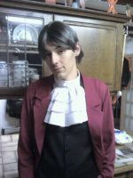 Edgeworth Costume by apollophoenix