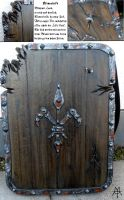 Larp Shield for an Undead by MordorLegion