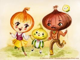 Onions Family by BlueBirdie