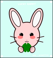 The Lucky Rabbit by CitricLily