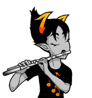 Talksprite Commission: Flute by MiseryGk