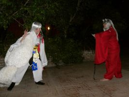InuYasha - Sibling Rivalry by InnocentWsh