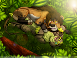 Jungle Flare by Iva-Inkling