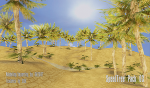UDK SpeedTree Pack 03 by DK2007