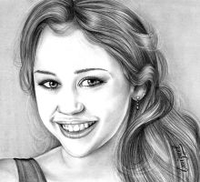 _- Miley Cyrus -_ by emizael