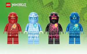 LEGO Ninjago NRG Wallpaper by skybard