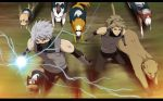 Kakashi and Ryu: Charge by annria2002