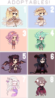 pixel adoptables by SMFJ