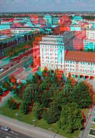 Toy City Vein - 3D anaglyph by gen2oo9