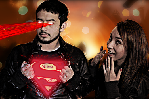 I am her Superman by rockgelio