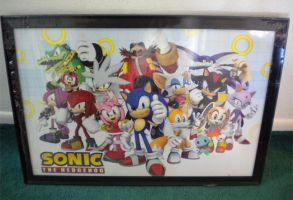 Sonic the Hedgehog Cast Poster by Fuzon-S