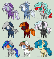 MLP Adopties by minieverfeel