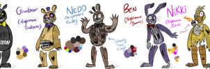 FIVE NIGHTS AT FREDDY'S 4 by Ask-The-5NAF-Crew