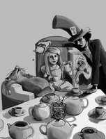 The Mad Tea Party by IrQQ