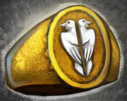 Hetherev interaction object: Mages ring by Serpentwined
