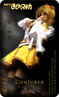 Tomoe Mami Coscard by ConJurer-CJ