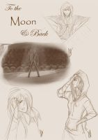 GleeArtDump:To the Moon N Back by SolitaryRoyalty