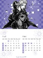 KHII monthly calendar4 by Akuhen