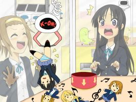 K-On Mio Crane Machine by tkdauronXIII