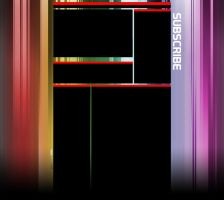 Multicolor YouTube Background by XM94