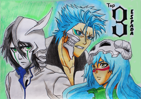 Bleach: Top 3 Espada by Pademo