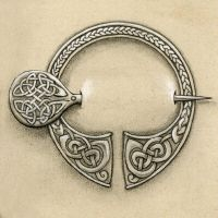 Celtic brooch by mossy-tree