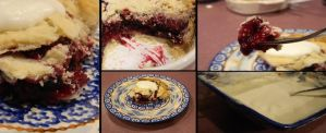 Pie collage by Champineography