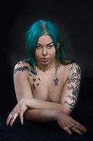 Tattooed woman n0. 1. by MoiraHermione