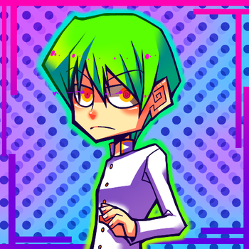 SCREW 4KIDS, I HAD GREEN HAIR by Krooked-Glasses