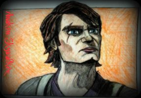 Slaves of the Republic Anakin sketch by SWbloodwolf