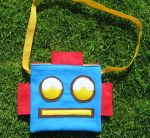 Robot Purse by manriquez