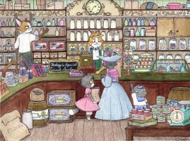 McKinney General Store by The-Happy-Apple