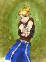 Riza Hawkeye by TalisX